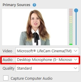 choose audio