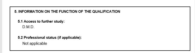 סעיף 5: מידע אודות תפקיד (Function) ההכשרה